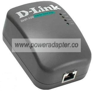 D-Link DHP-100 POWERLINE ETHERNET BRIDGE ADAPTER