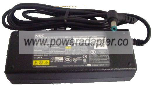 NEC PA-1900-23 AC ADAPTER 19VDC 4.74A 90W ADP81 Switching Power
