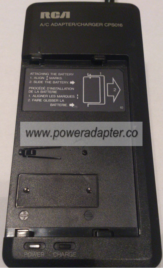 RCA CPS016 AC ADAPTER 8.5V DC 1.3A CHARGE 6V DC 1.8A JACK NEW
