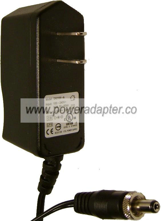 SA0105-A AC DC ADAPTER 5V 1 4A SWITCHING POWER SUPPLY