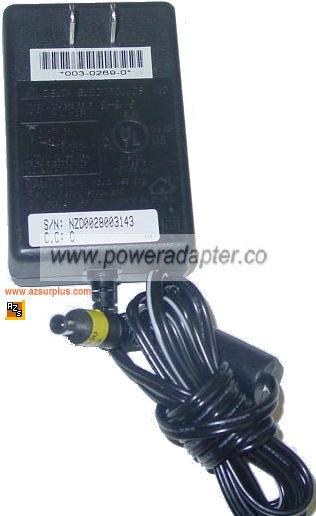 DELTA HP ADP-15FB AC Adapter 12V DC 1.25A Power Supply pin insid