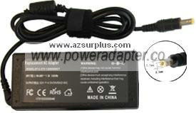 Finecom AZS4751 AC ADAPTER 12VDC 4.5A to 6A 72W POWER SUPPLY ADA