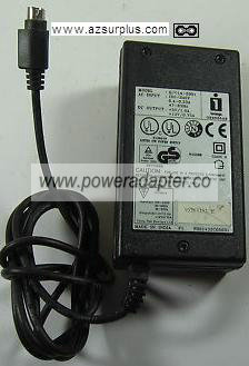 I iomega GPC14-2001 AC ADAPTER 5VDC 1A 12V 0.75A POWER SUPPLY IT