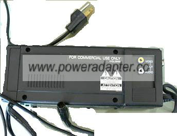 PANASONIC AG-B3A VIDEO AC ADAPTER 12Vdc 1.2A POWER SUPPLY