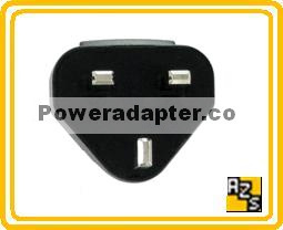 ASY-03746-001 BLACKBERRY RIM UK CHARGER PLUG CONNECTOR 3 PRONG