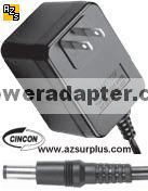 Cincon TR25120 AC ADAPTER 12VDC 2.1A -( ) 2.5x5.5mm Used 100-240