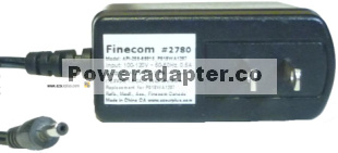 FINECOM AG2412-B_P018WA1207 AC Adapter 12V DC 1.5A REPLACEMENT P