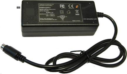 FINENESS POWER SPP34-12.0/5.0-2500 AC ADAPTER 12VDC 2500mA 5V