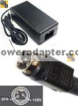 Finecom #4956 API-208-98010_UP02511120 UP02511120 AC ADAPTER 12V