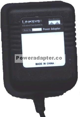 LINKSYS D12-050A AC ADAPTER 12V DC 500mA 12W AD 12/0.5 POWER SUP