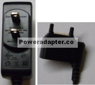 SONY ERICSSON DCH4-050US-0503 AC DC ADAPTER 4.9V 700mA