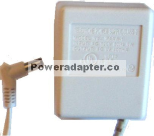 TELEPHONE POWER SUPPLY CLASS 2 MAAW-1 Adapter AC 9V 400mA