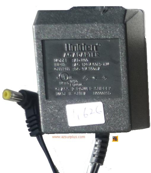 UNIDEN AD-800 AC ADAPTER 9VDC 350mA 6W linear regulated POWER Su