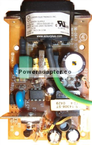 LEI SB10-033100-10 Open Frame 3.3Vdc 4A SWITCH Internal POWER SU