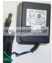 HON-KWANG D45-10 AC ADAPTER 4.5VDC 800mA USED -(+) 2x5.5x12mm RO
